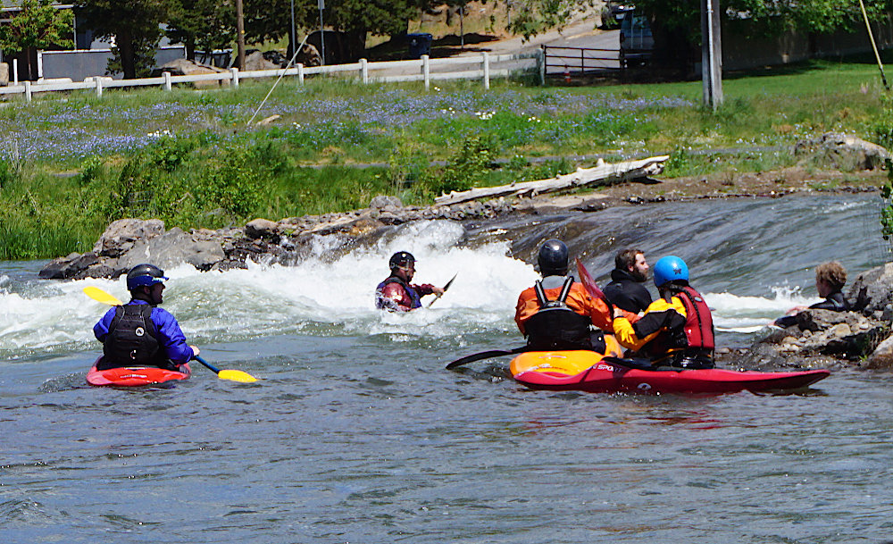 Whitewater Park in Bend Oregon