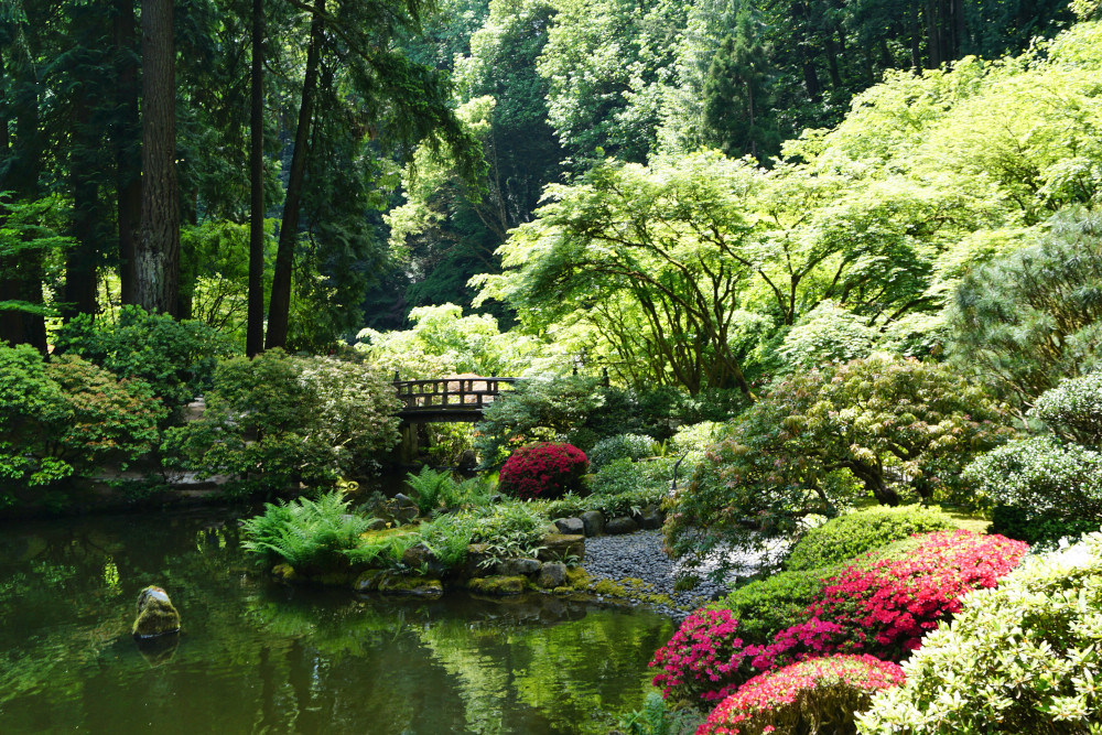 The Complete Guide to Portland Gardens | Portland Japanese Garden Natural Garden