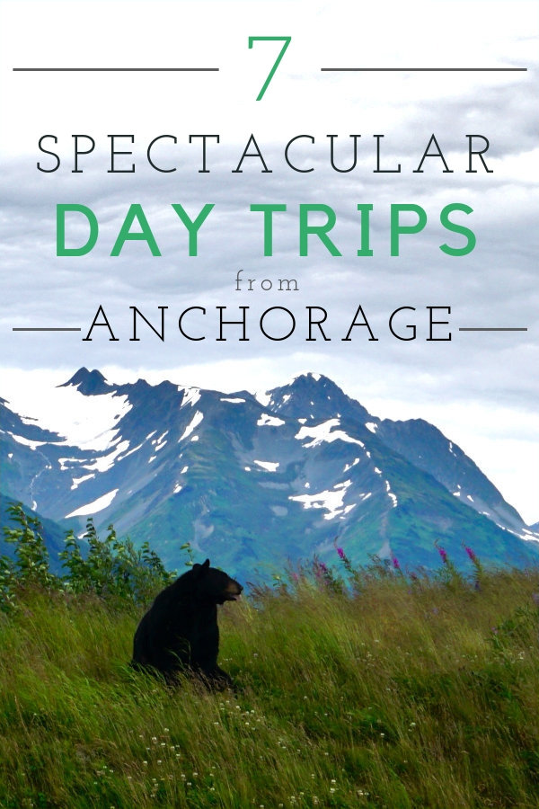 7 spectacular day trips from Anchorage Alaska. Explore abandoned mines, take a wildlife boat cruise, and hike through some of the world\'s most breathtaking scenery. All near Anchorage. #Anchorage #Alaska #Travel