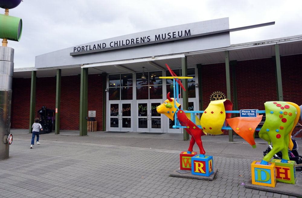 The best things to do with kids in Portland to have fun and educate. Children's Museum.