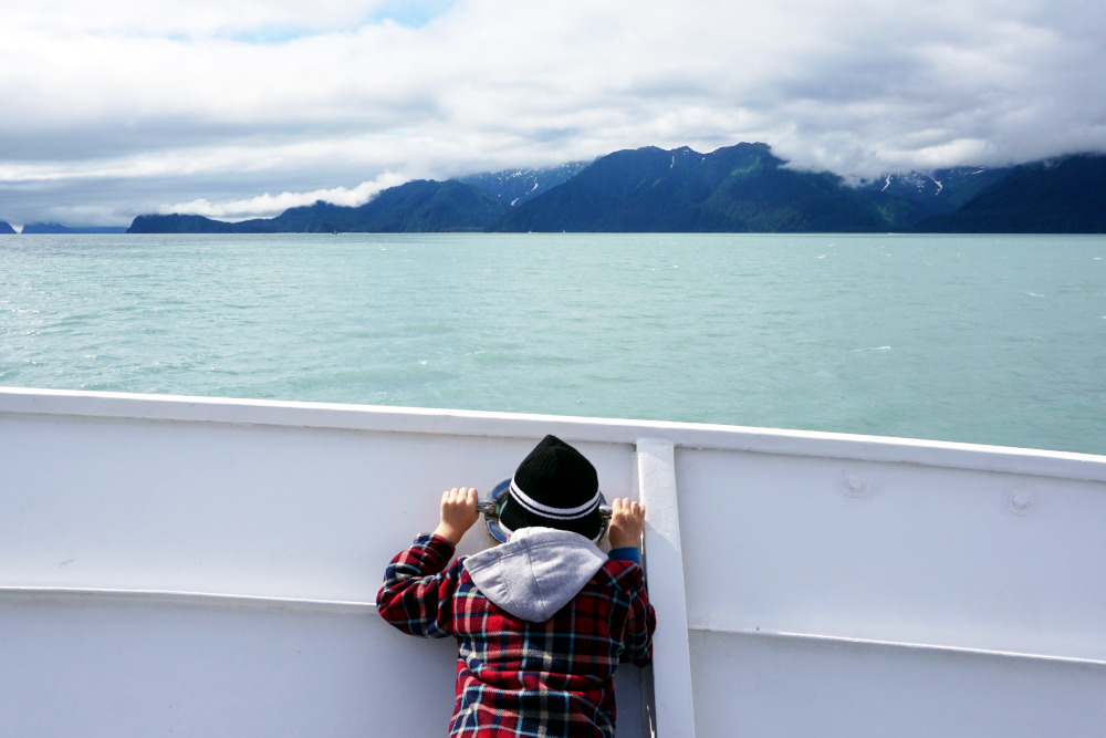 Boat tour of Kenai Fjord National Park | Things to do in Seward Alaska